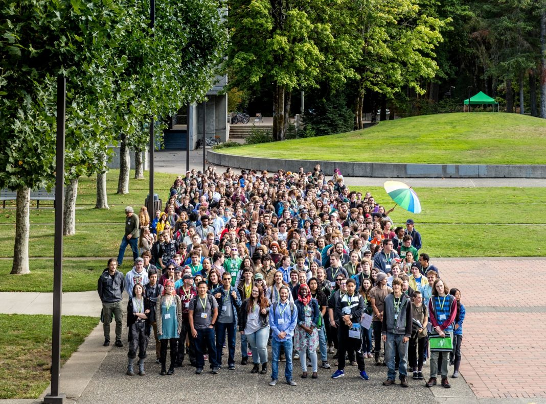 Evergreen College class of 2021 group photo-1