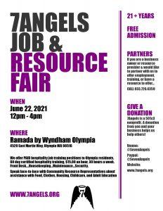 7 Angels Job & Resource Fair @ Ramada by Wyndham Olympia