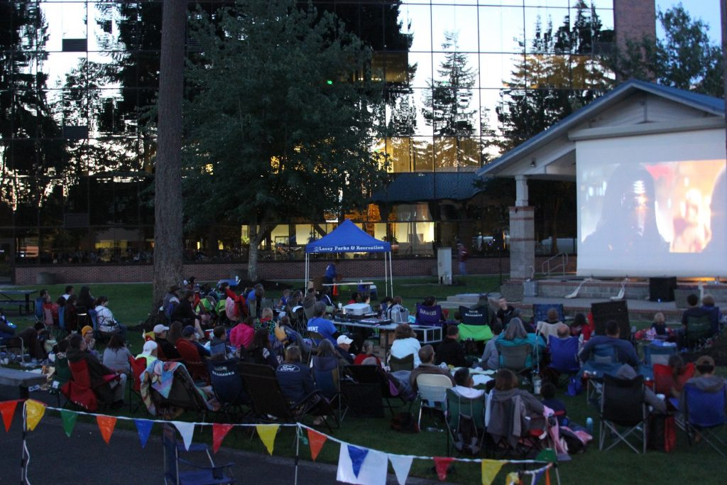 Lacey in Tune Movies in the Park