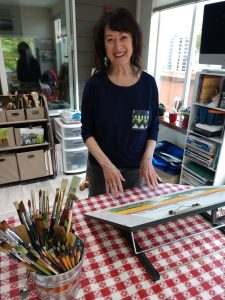 Lorraine-Donner Free Coloring Easel