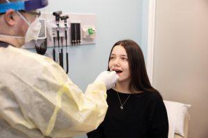 MultiCare-Urgent Care Rapid-Test-Swab-girl-MultiCare