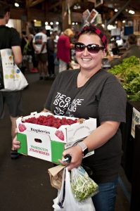 Olympia Farmers Market How can you not smile when you have berries