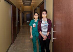 Providence Dr Wendy Lau and Elizabeth Hague ARNP
