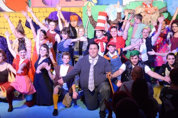 Tenino young at heart theatre Suessical