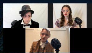 Yelm-High-School-Drama-Club-Streaming-Radio-Play-Actors
