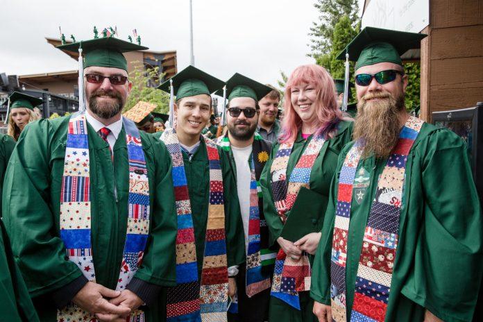 Evergreen College-Veterans-Graduation