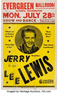 Evergreen ballroom history Jerry-Lee-Lewis-Concert-Poster
