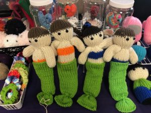 Olympia Swap-Meet-Crocheted-Dolls