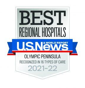 Providence St Peter Best Hospital Badge