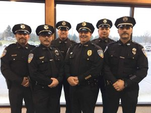Yelm-Police-Department-Bill-DeVore-and-officers