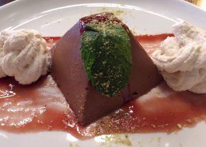 olympia restaurant Cynaras-Chocolate-Marquise
