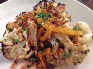 olympia restaurant Cynaras-cauliflower