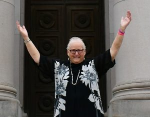peacemaker award Mary-Fairhurst-Pose-of-Joy