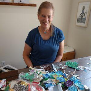Eunice-King-Paper-Artist-at-Desk