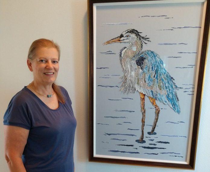 Eunice-King-with-Heron