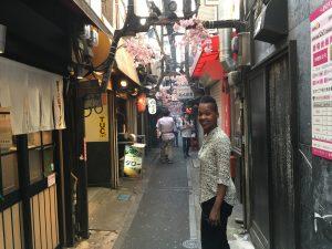 Olympia jazz -LaVon-Hardison-Visiting-Japan