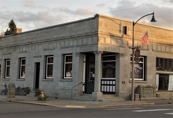 Tenino facade grant Old-Bank-Tenino-WA