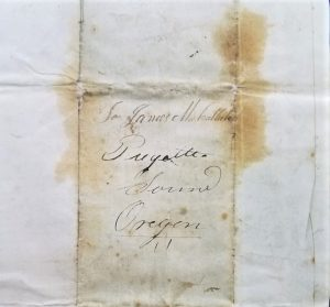 Michael Simmons Olympia-mail-history-1845-James-McCallister