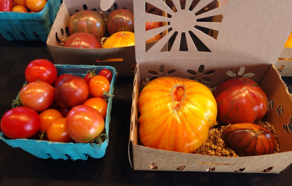 Olympia Farmers Market-Tomatoes