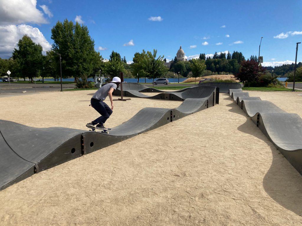 Olympia Skate-Spots Thurston County Pump-Track