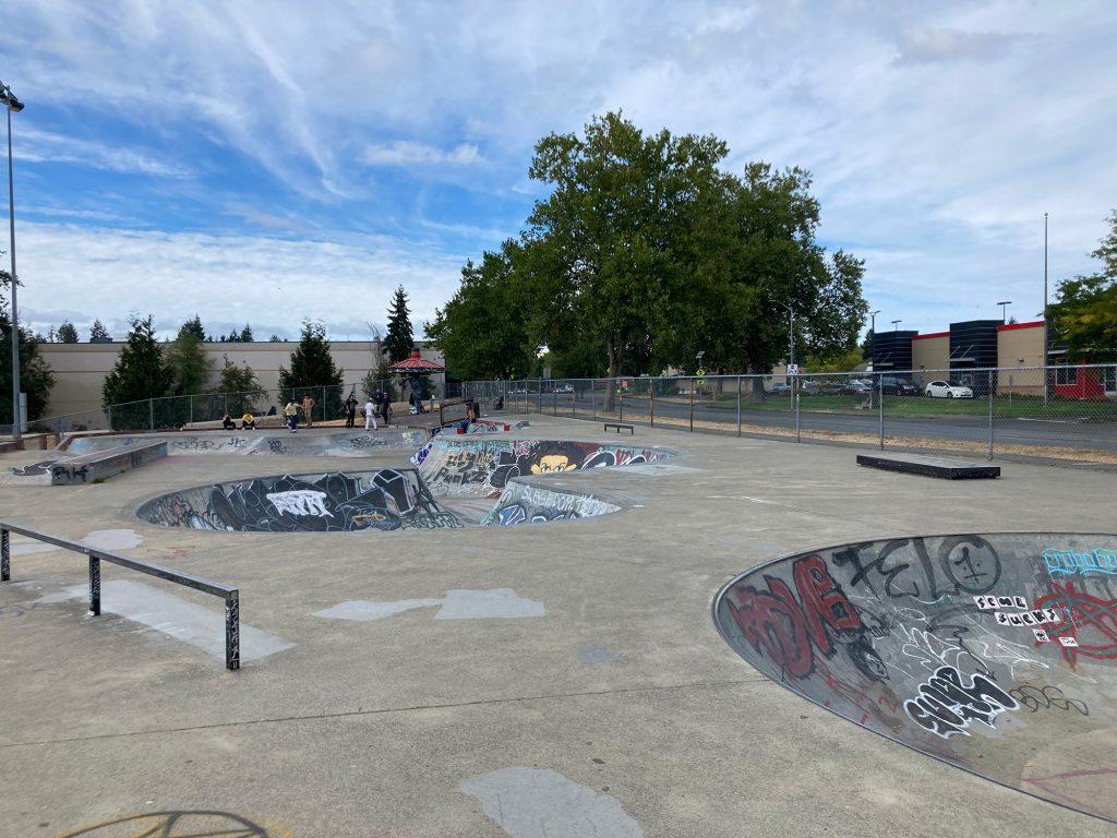 Olympia Skate-Spots Thurston County Yauger-Park
