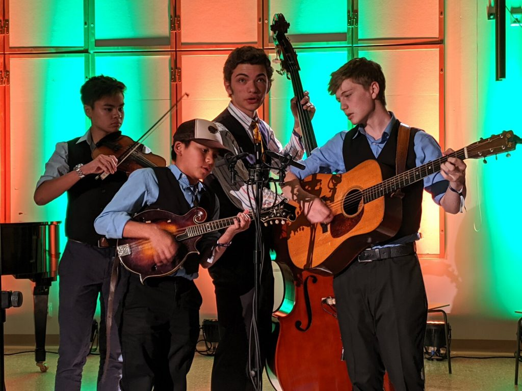 bluegrass from the festival Crying-Uncle