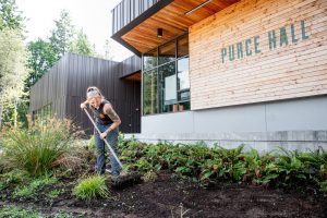 evergreen state college fall ready 2021 landscaping
