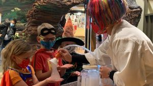 Hands on Childrens Museum Boo Bash Dr Science