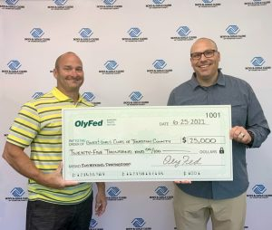 Olympia Federal Savings OlyFed-Sustaining-Partner-Check-BGCTC