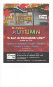 The Colors of Autumn @ The Artists' Gallery